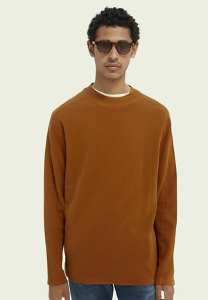 Long sleeved top - teak