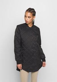 Vero Moda - VMHAYLE JACKET - Short coat - black - 0