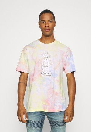 GOKU ULTRA INSTINCT WASHED TEE - Print T-shirt - slate