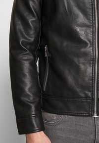 CELIO - RUBIKER - Faux leather jacket - black - 5