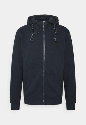 CAYCE - Zip-up hoodie - navy