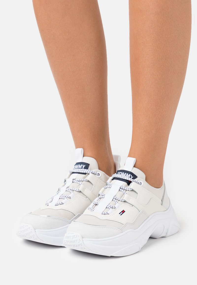 Tommy Jeans - LIGHTWEIGHT SHOE - Sneakers - white