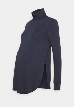 Long sleeved top - night sky blue