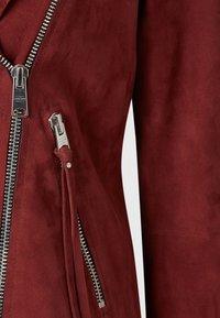 AllSaints - Chaqueta de cuero - red - 4