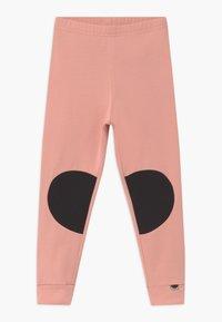 Papu - PATCH UNISEX - Legíny - dusty pink/black - 1