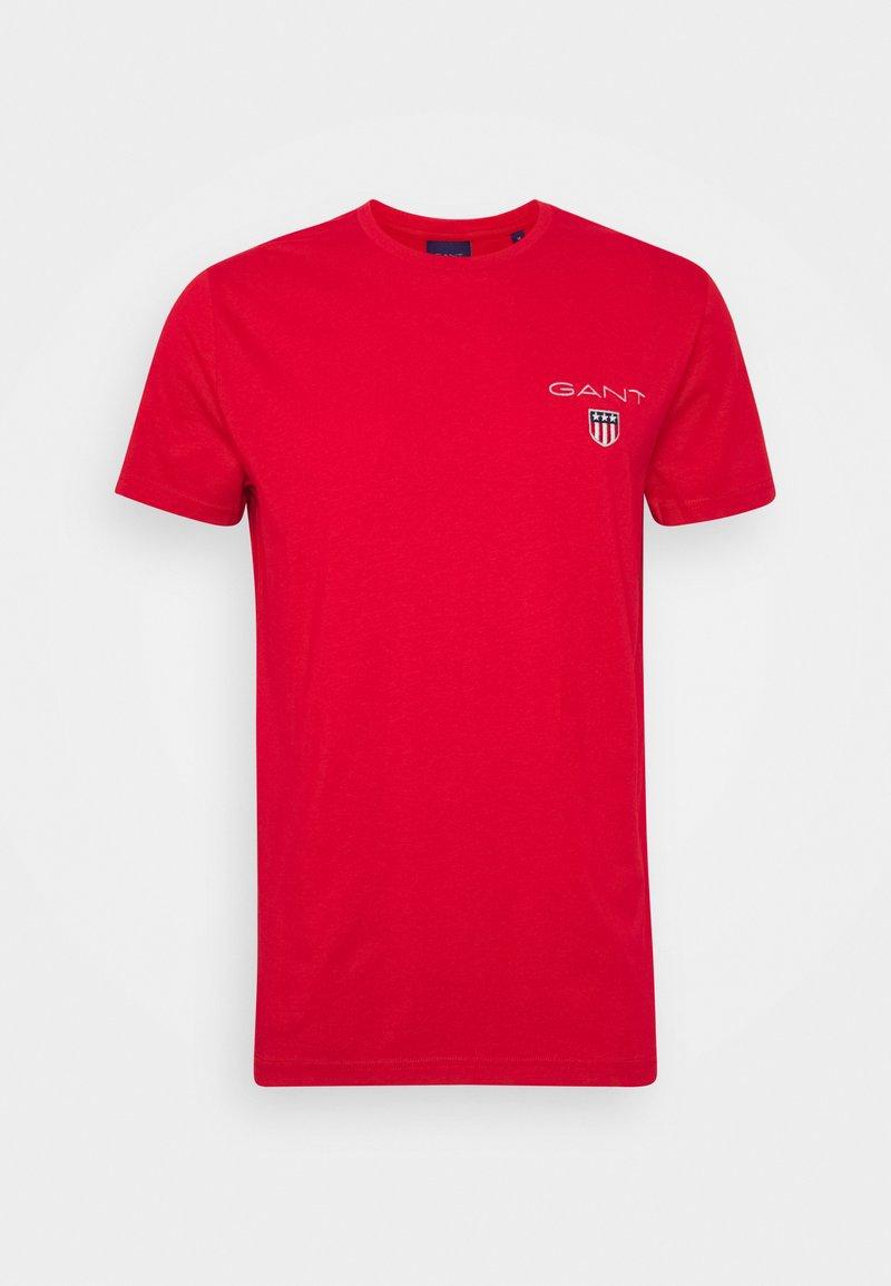 GANT - MEDIUM SHIELD - Basic T-shirt - bright red