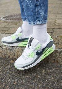 Nike Sportswear - NIKE AIR MAX - Sneakers - white/aquamarine-lime glow-off noir-pure platinum - 2