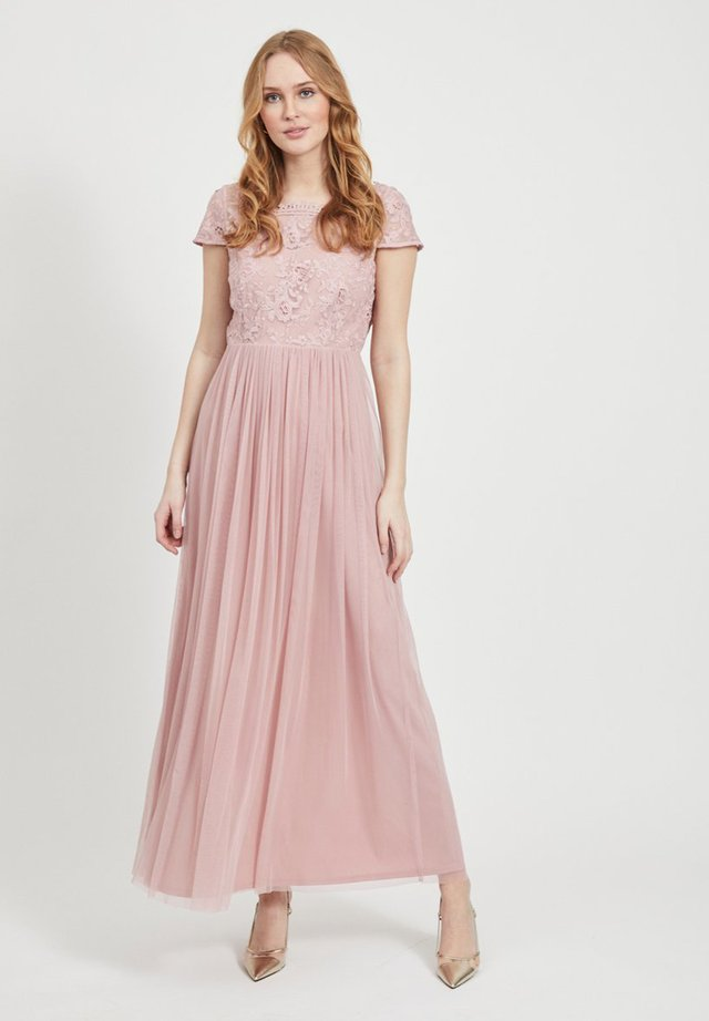Suknia balowa - pale mauve