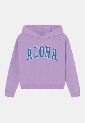 LPALOHA CROPPED HOODIE - Felpa - sheer lilac