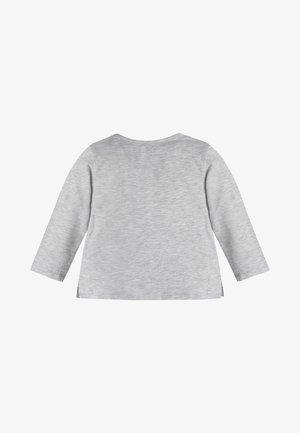 FRONTLOGO - Long sleeved top - grau