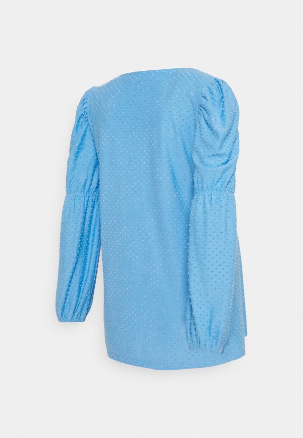 Pieces Maternity PCMGERALDINE SLEEVE - Bluzka - little boy blue/jasnoniebieski LLWM