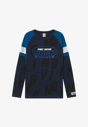 HEZRON - Long sleeved top - midnight blue