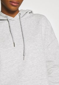 Nly by Nelly - OVERSIZED HOODIE - Hoodie - grey melange - 5
