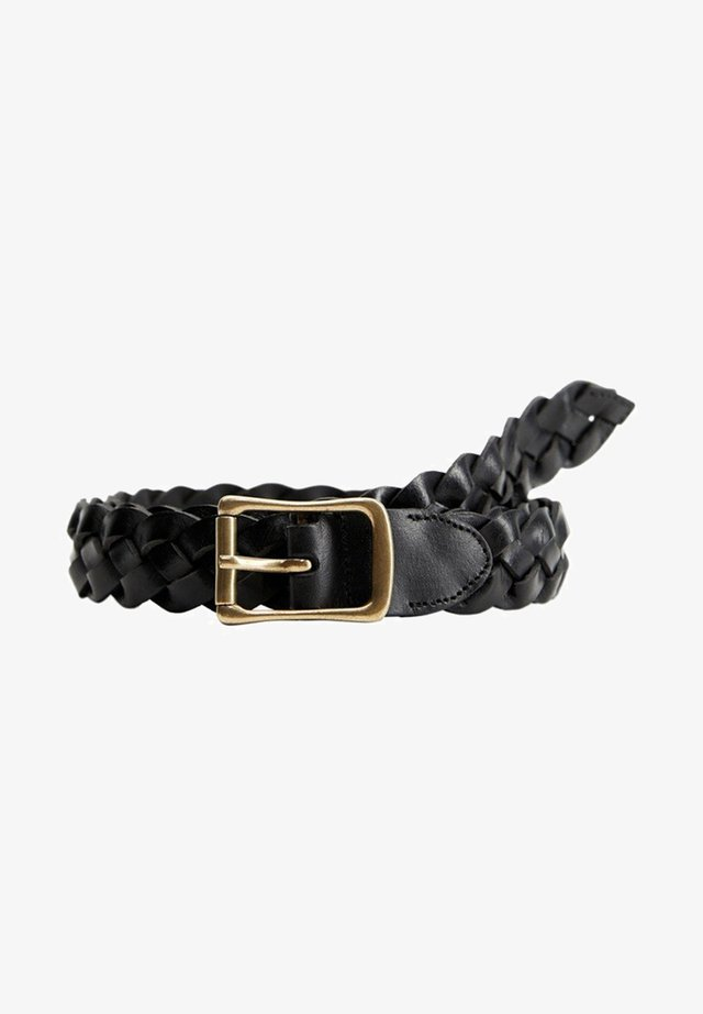 TRESSÉE - Braided belt - noir