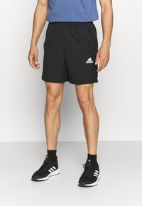 adidas Performance - Korte sportsbukser - black - 0