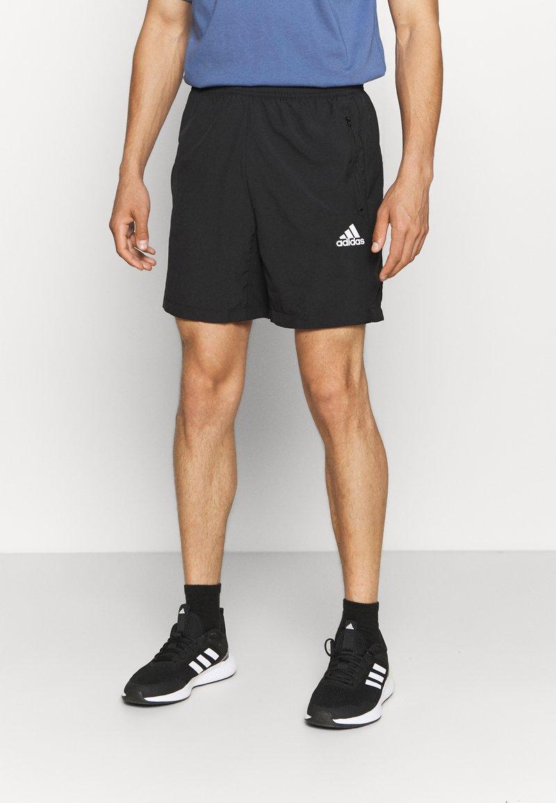 adidas Performance - Korte sportsbukser - black