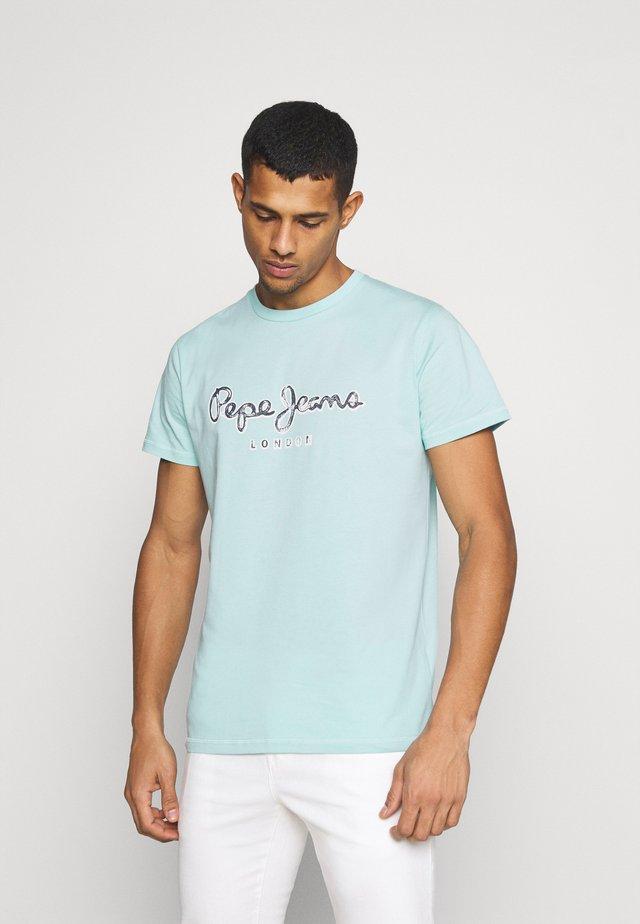 MERTON - Camiseta estampada - turquoise