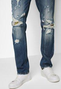 Just Cavalli - PANTS 5 POCKETS - Slim fit jeans - blue denim - 3
