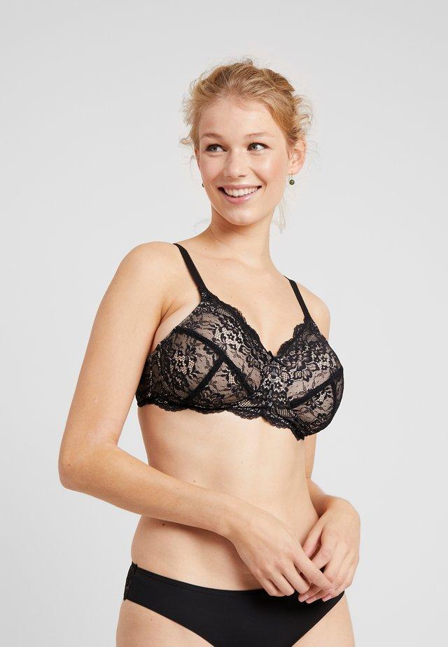 POST SURGERY BRA - Triangle bra - black/pink