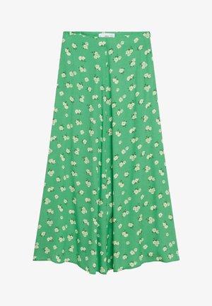 A-snit nederdel/ A-formede nederdele - grün
