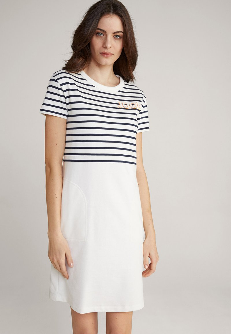 JOOP! - TRINA - Jersey dress - navy/weiß