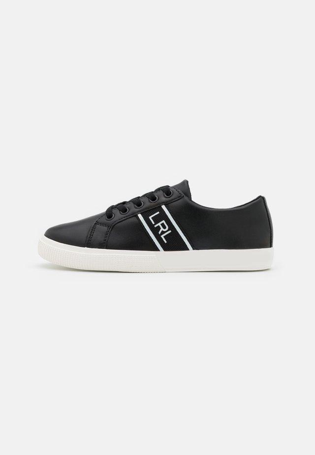 LOGO WEBBING JANSON - Sneakers laag - black