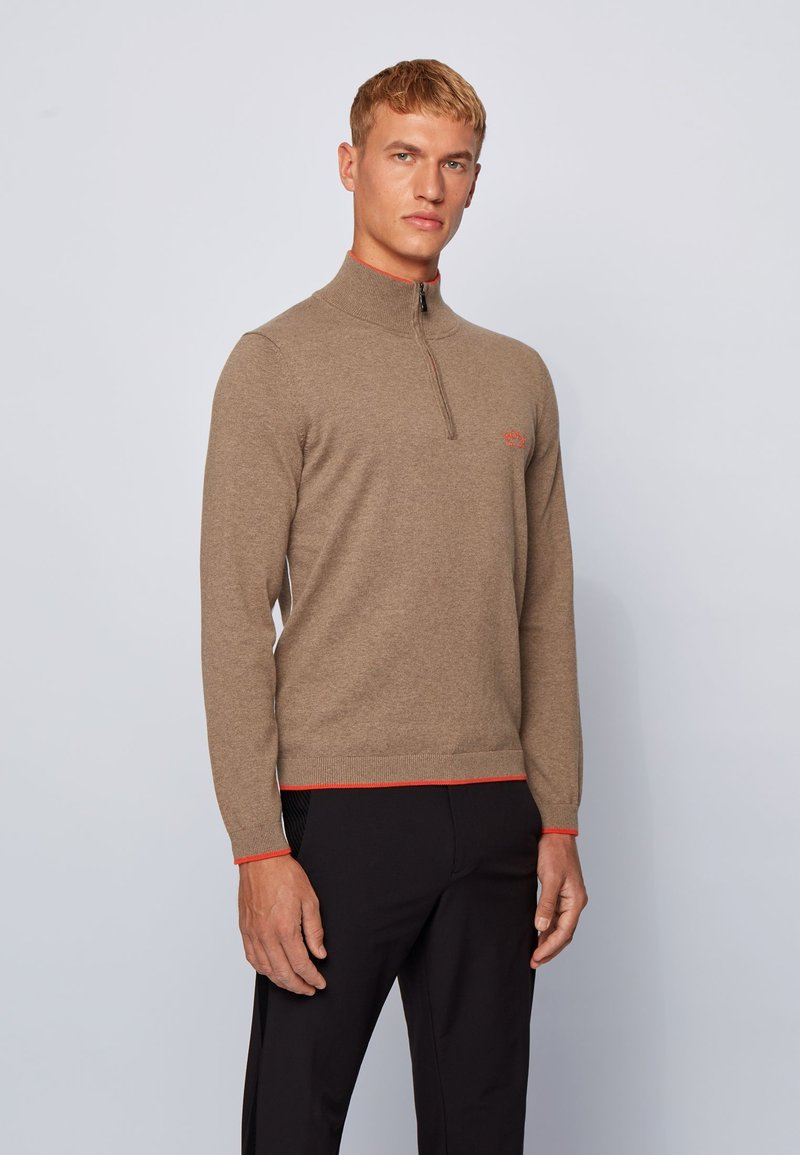 BOSS - ZISTON_W20 - Strickpullover - brown