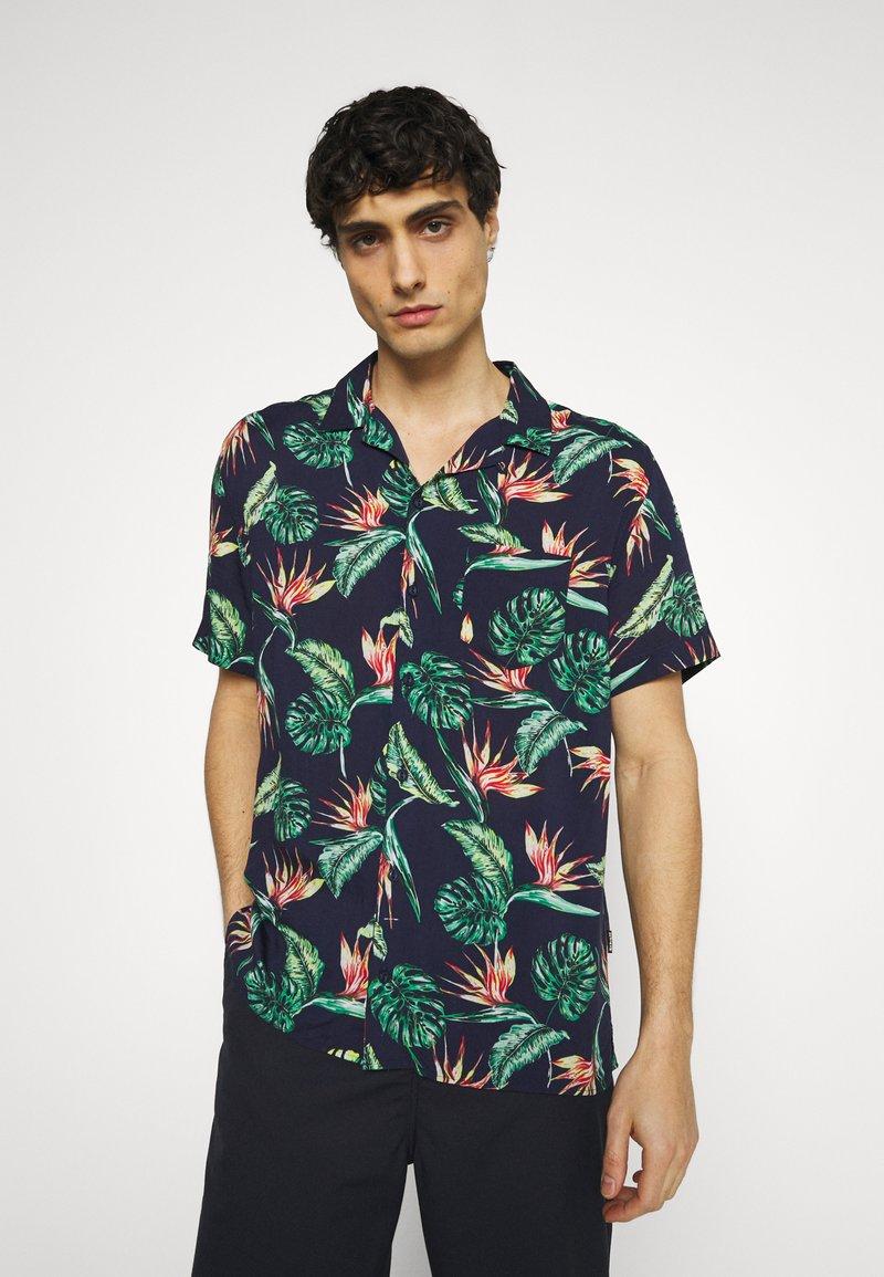 Schott - SHRIVERA - Shirt - navy exotic