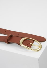 Zign - LEATHER - Pasek - cognac - 4