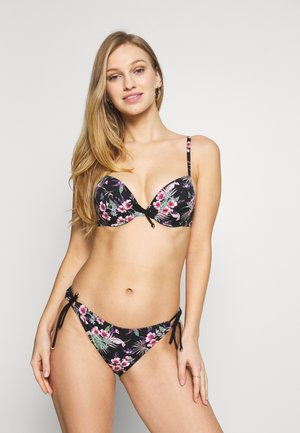 PUSH UP PAM SET - Bikinier - black