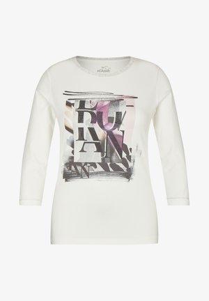 Sweatshirt - weiãŸ