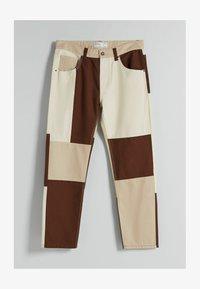 Bershka - Jeans straight leg - brown - 4