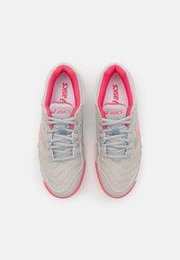 ASICS - GEL-DEDICATE 6 CLAY - da tennis per terra battuta - oyster grey/pink cameo - 3