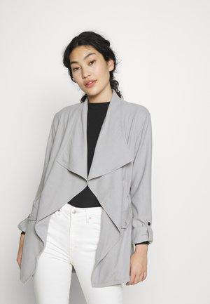 LIGHTWEIGHT WATERFALL JACKET - Summer jacket - grey