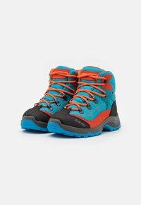Hi-Tec - CARNIVAL WP JR UNISEX - Hiking shoes - light blue/orange - 1