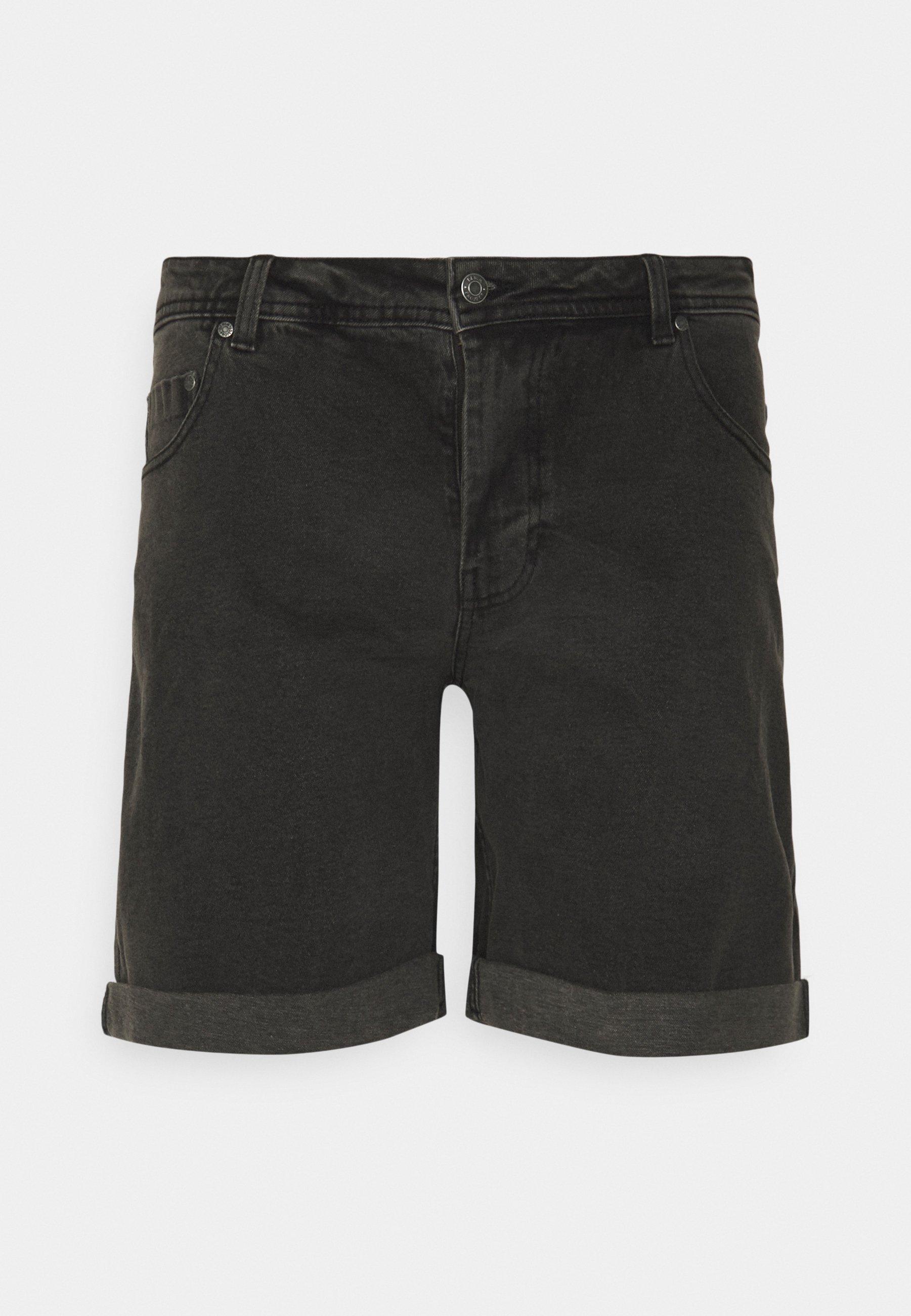 Homme MR ORANGE - Short en jean