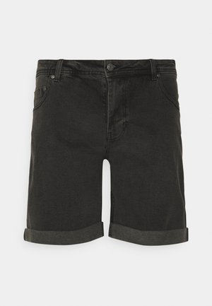MR ORANGE - Denim shorts - grey