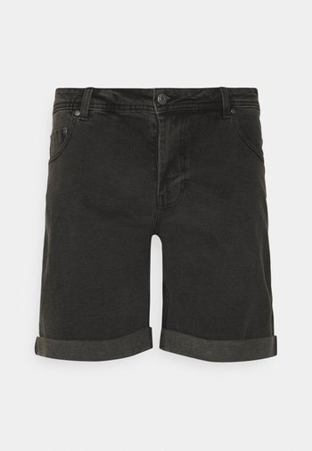 MR ORANGE - Denim shorts - grey