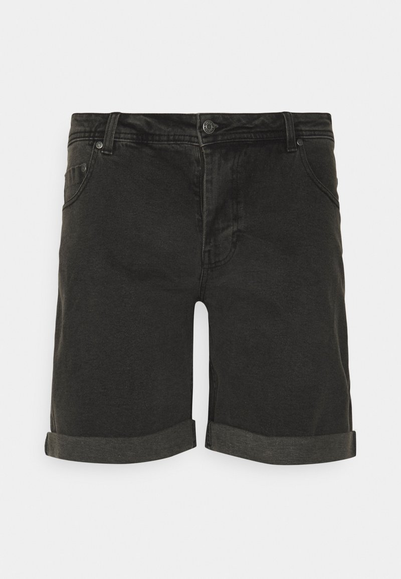 Denim Project - MR ORANGE - Denim shorts - grey