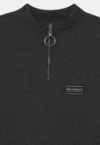 New Look 915 Generation - ZIP STRIPE - Jersey dress - grey - 2