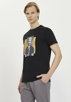 SAXOPHONE - T-shirt print - black