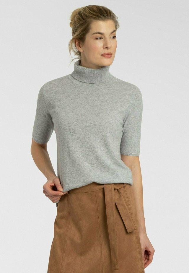T-shirt basic - silber melange