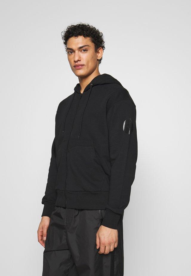 FLEEX - Zip-up hoodie - black