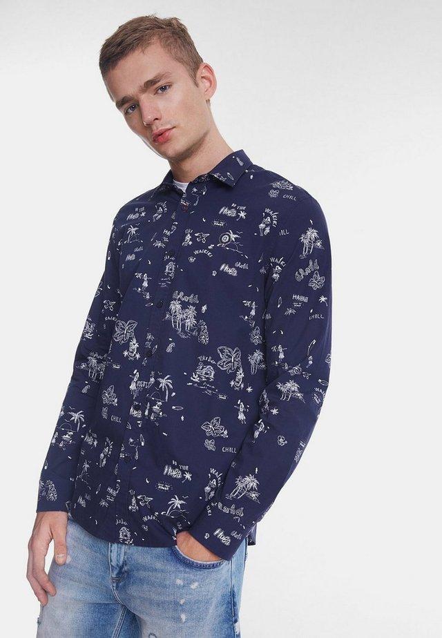CAM_EZRA - Shirt - blue