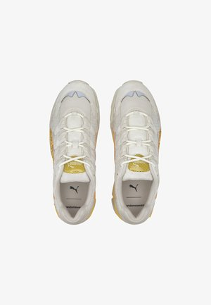 PUMA PUMA X RANDOMEVENT CELL ALIEN TRAINERS UNISEX - Sneakers laag - white asparagus/lemon chrome