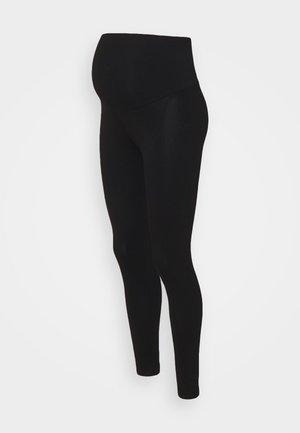 ORGANIC OVERBUMP - Legging - black