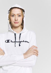 Champion - HOODED - Hoodie - white - 3