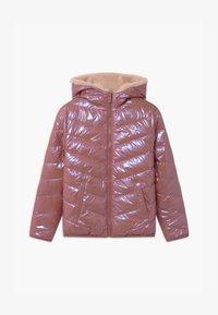 Abercrombie & Fitch - COZY PUFFER - Zimní bunda - pink shine - 0