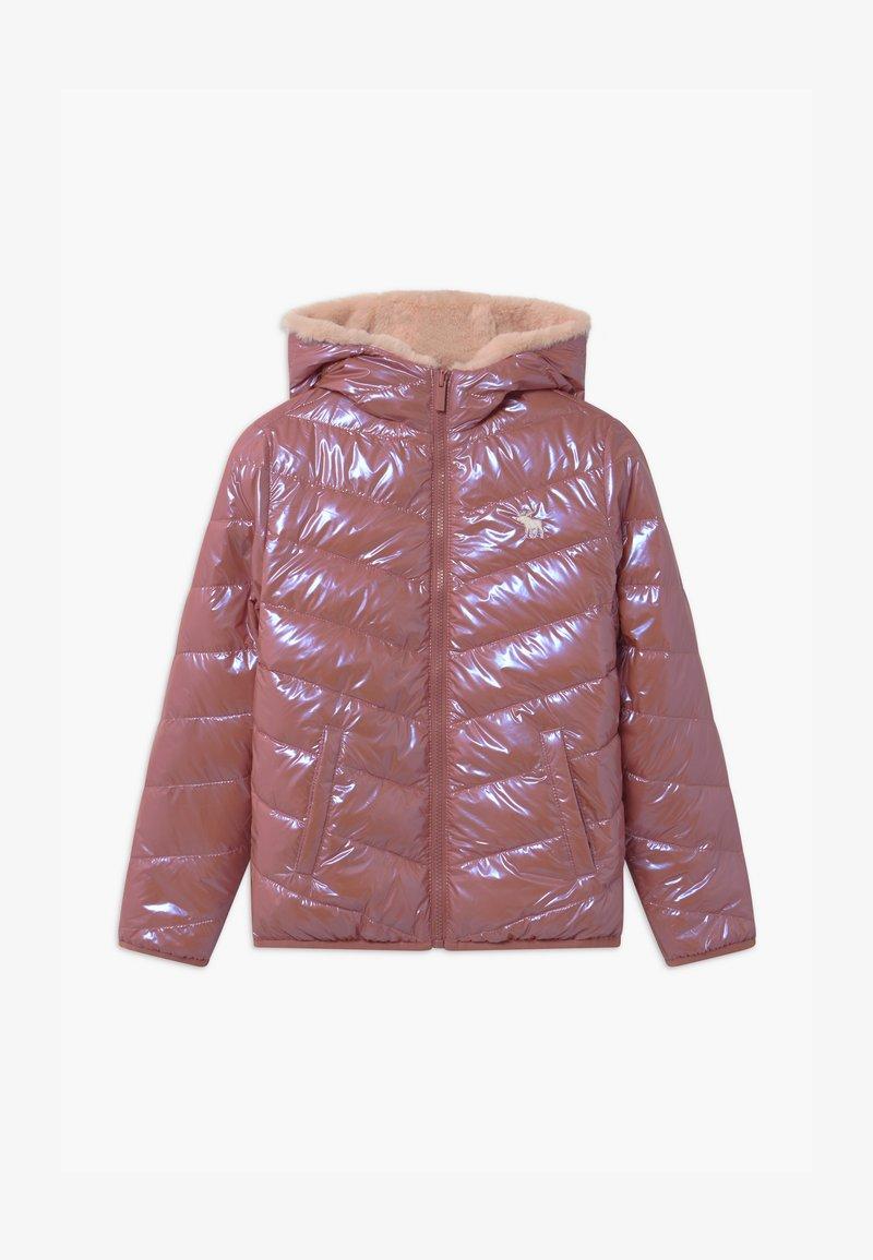 Abercrombie & Fitch - COZY PUFFER - Zimní bunda - pink shine