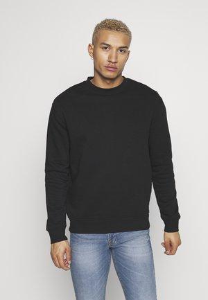 RELAXED CREW - Sweatshirt - black